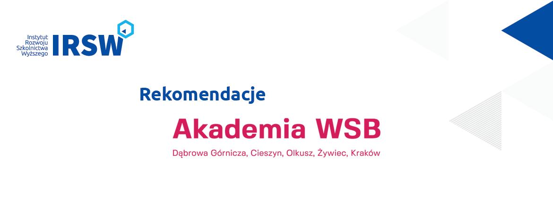 Strategia Rozwoju Akademii WSB nalata 2021-2025 – rekomendacje