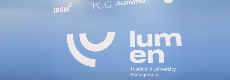 IRSW partnerem V Konferencji dla liderów zarządzania uczelnią LUMEN 2019