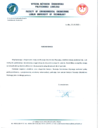 Politechnika Lubelska – usługi doradcze – 22.10.2015 r.