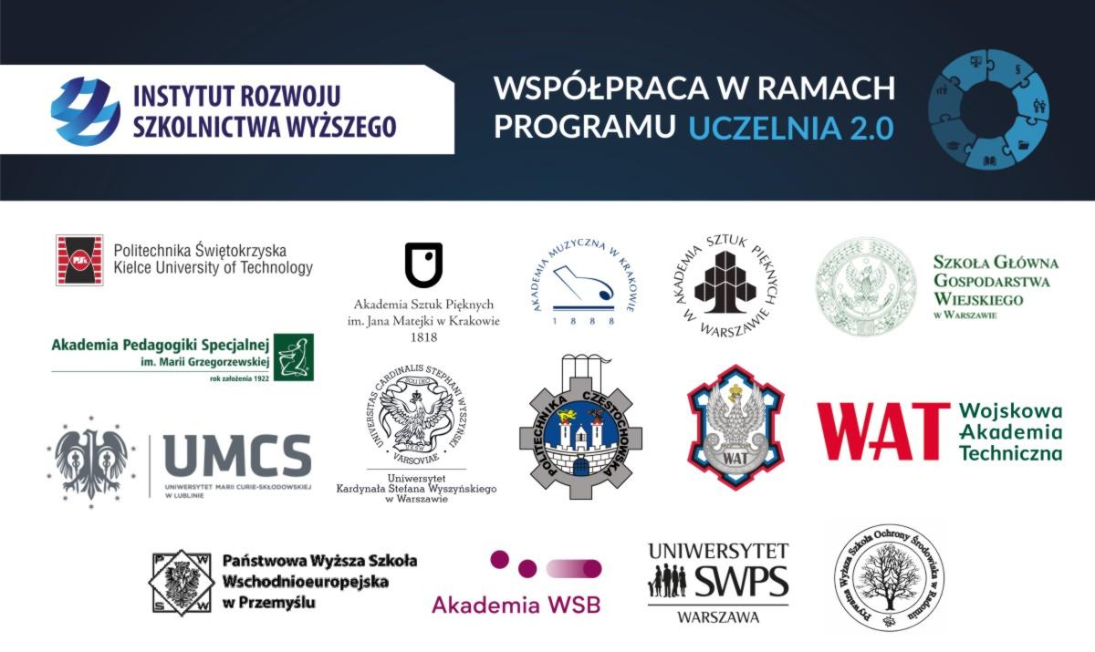 Współpraca wramach programu Uczelnia 2.0