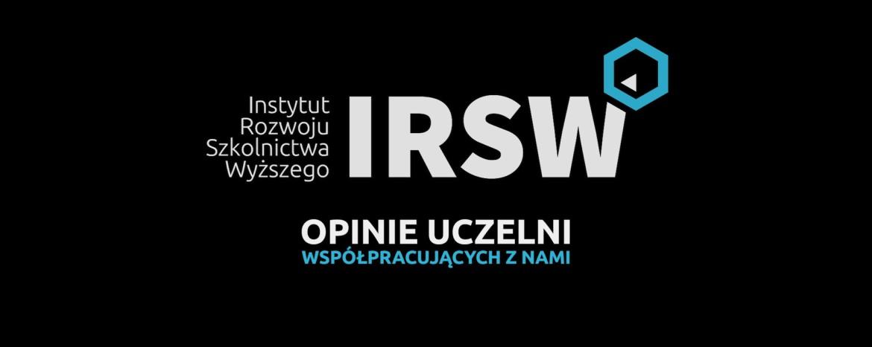 Opinie uczelni współpracujących zIRSW – Akademia WSB zDąbrowy Górniczej
