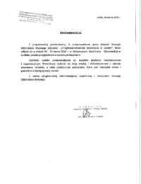 Uniwersytet Marii Curie-Skłodowskiej wLublinie – usługa szkoleniowa – 30.03.2018