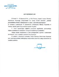 Uniwersytet Mikołaja Kopernika wToruniu – usługa szkoleniowa – 12.01.2018