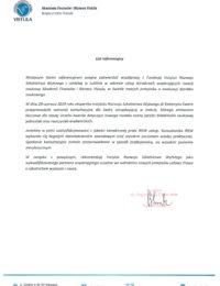 Akademia Finansów iBiznesu Vistula – usługi doradcze – 29.06.2019