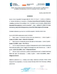 Wyższa Szkoła Gospodarki Europejskiej – usługa szkoleniowa- 25.02.2019