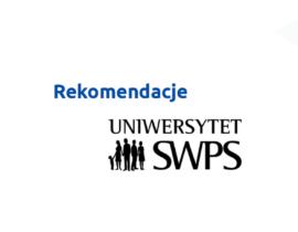 Referencje odUniwersytetu SWPS