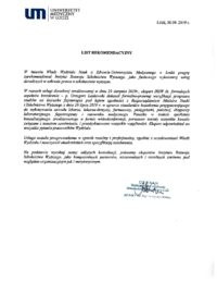 Uniwersytet Medyczny wŁodzi-usługa doradcza-03.10.2019